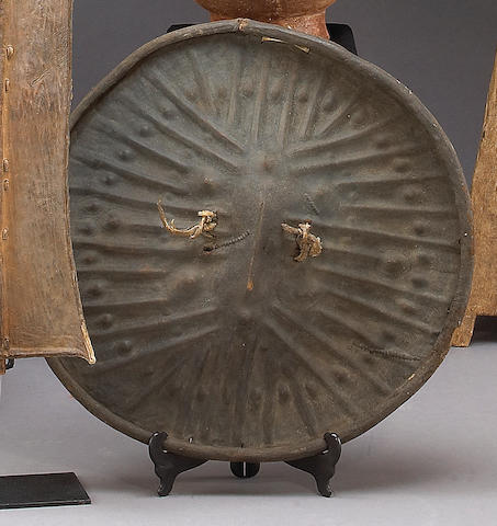An Arussi hide shield