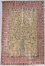 A Tabriz carpet Northwest Persia, Size approximately 7ft 6in x 11ft 4in
