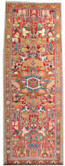 A Serapi long carpet Northwest Persia, Size approximately 7ft x 19ft
