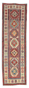 A Kazak runner Caucasus, Size approximately 3ft 2in x 10ft