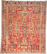 A Heriz carpet Northwest Persia, Size approximately 9ft x 11ft