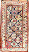 A Genje rug Caucasus, Size approximately 3ft 9in x 6ft 8in