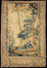 A French mythological tapestry fragment