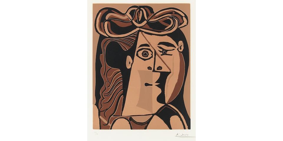 Pablo Picasso; Femme au Chapeau;