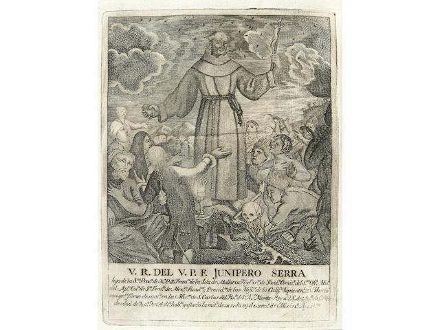 PALOU, FRANCISCO.  1722?-1789?