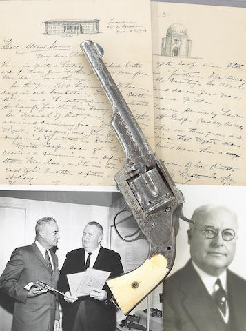An historic engraved Merwin Hulbert revolver attributed to Wyatt Earp