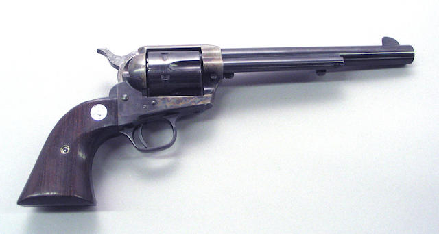 A Colt 2nd Generation single action army revolver Modern firearm