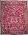 A Meshed carpet Northeast Persia, Size approximately 11ft 8in x 14ft 7in