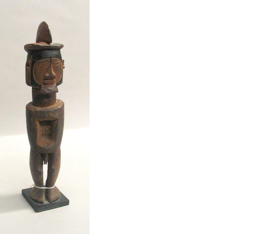 A Teke male fetish figure