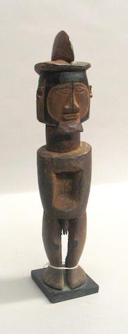 A Teke male fetish figure