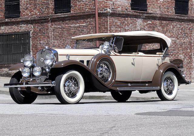 1931 Cadillac V-12 Model 370A Sport Phaeton  Chassis no. 1004968