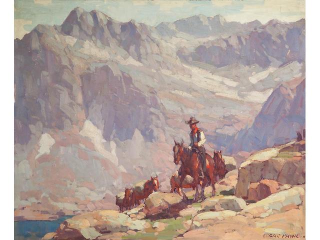Edgar Payne, Sierra, o/c.
