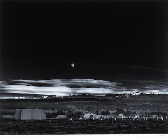 Ansel Adams; Moonrise, Hernandez, New Mexico;