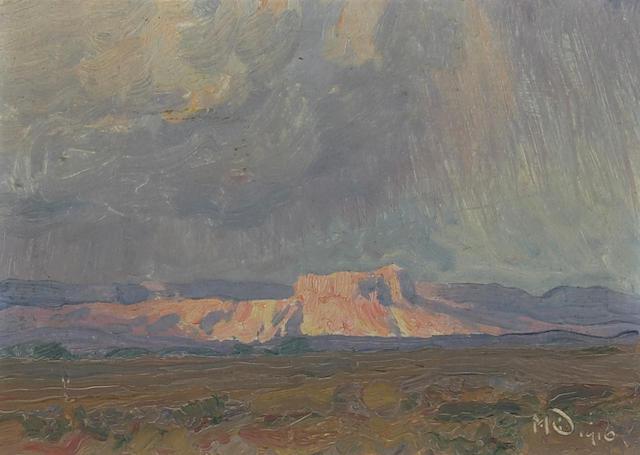 Maynard Dixon (1875-1946) Mesa 6 x 8 3/8in