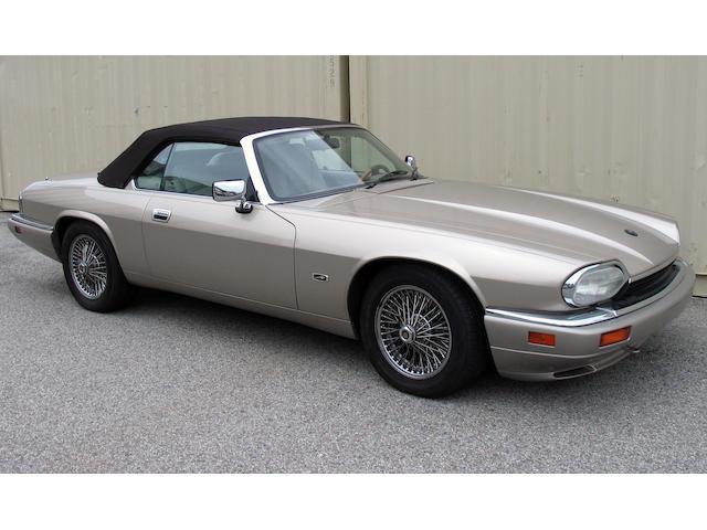 1996 Jaguar XJS Convertible  Chassis no. SAJNX2747TC224599