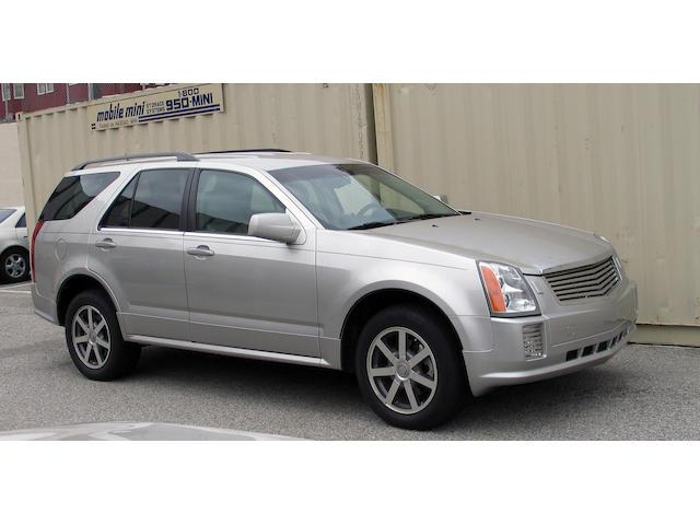 2004 Cadillac SRX V8 Northstar  Chassis no. 1GYEE63AX40192378
