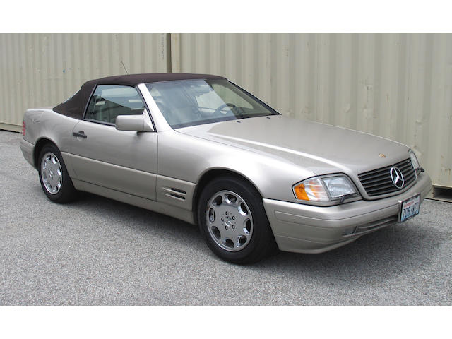 1996 Mercedes Benz SL 500 Convertible