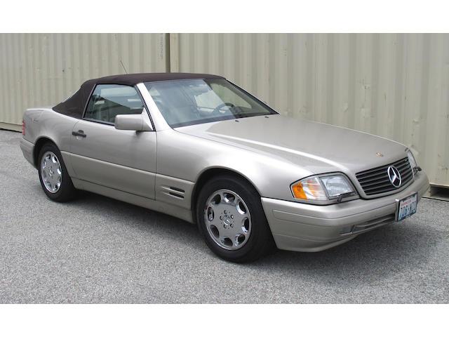 1996 Mercedes Benz SL 500 Convertible  Chassis no. WDBFA67F8TF127860