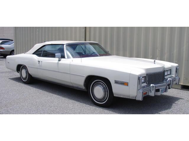 1976 Cadillac El Dorado Convertible