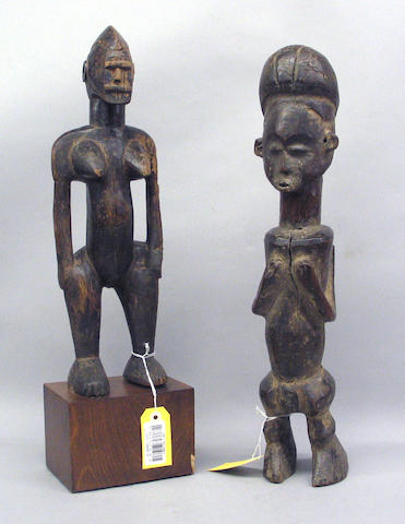 Two African figures