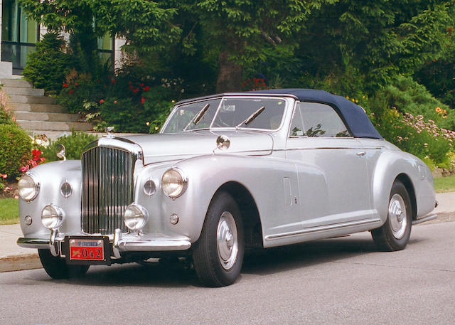 1949 Bentley MK VI Drophead Coupé B453CD
