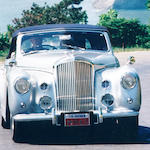 The Geneva Salon,1949 Bentley MK VI Drophead Coupé  Chassis no. B453CD Engine no. B468C