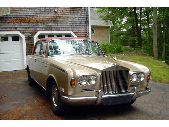 1970 Rolls-Royce Silver Shadow Sedan  Chassis no. SRH8628