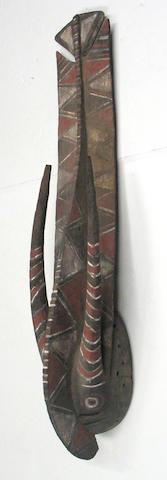 A Gurunsi mask