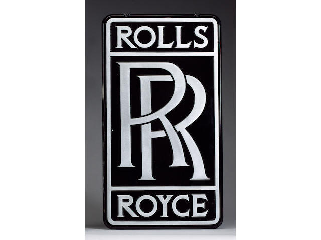 A 'Rolls-Royce' service sign,