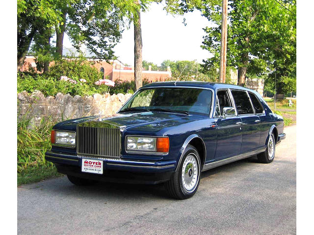 1994 Rolls-Royce Silver Spur III Armored Touring Limousine  Chassis no. SCAZW02C6RCX80120