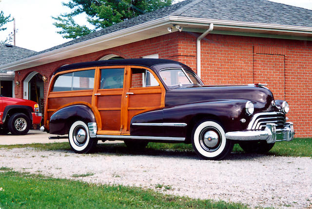 Three owner's from new,1948 Oldsmobile Dynamic Series 68 Station Wagon  Chassis no. tba