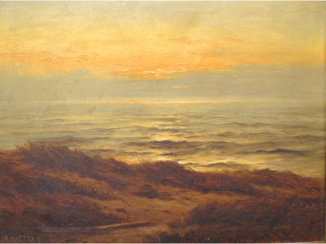 Nels Hagerup (American 1864-1922) Sand dunes 18 x 24in