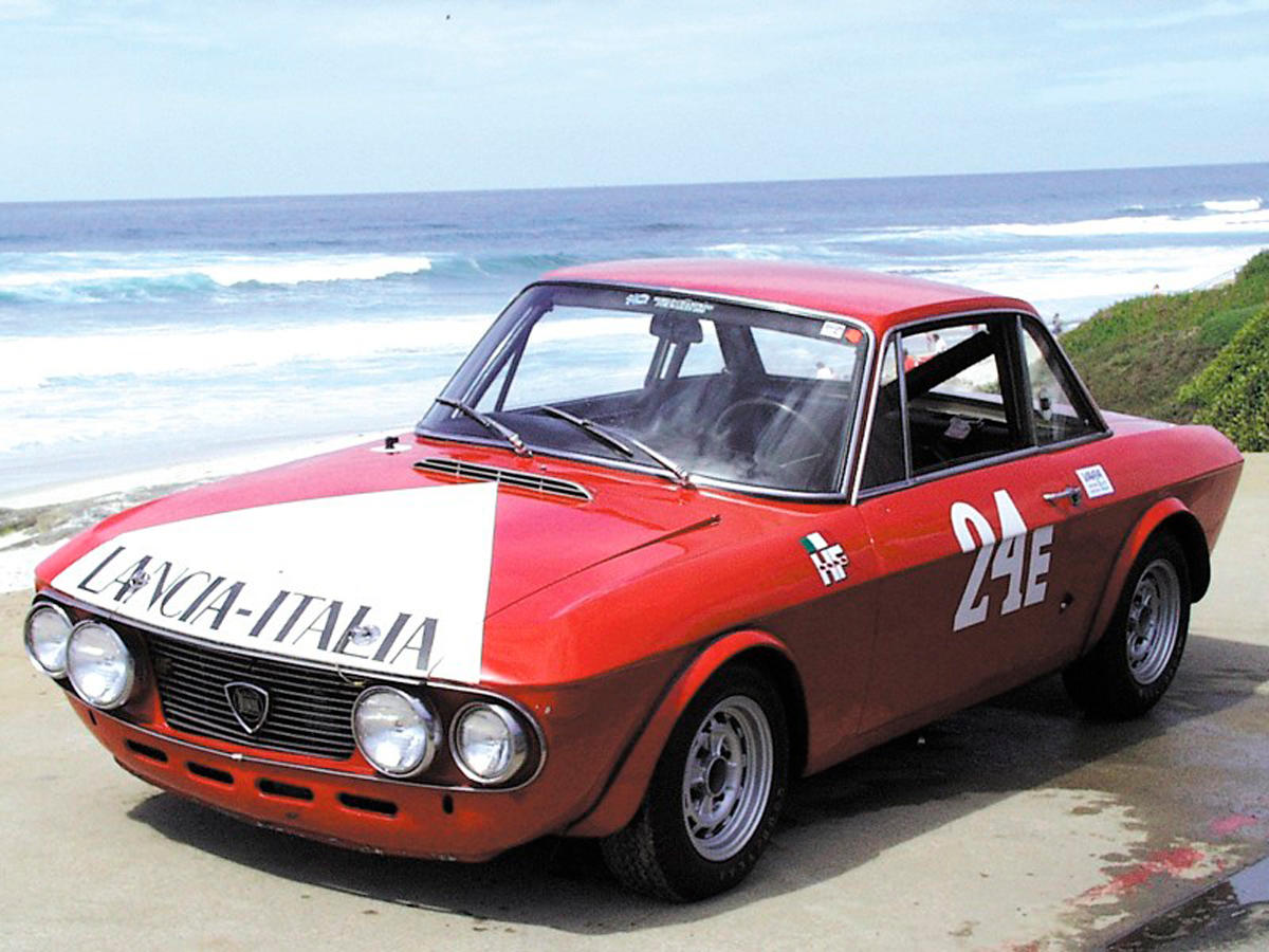 The ex-Innes Ireland Lancia Fulvia HF Chassis no. 818.540.001002