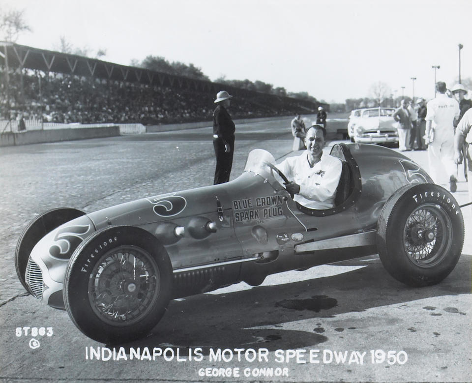 A large and comprehensive collection of American Motor-sport photographs,