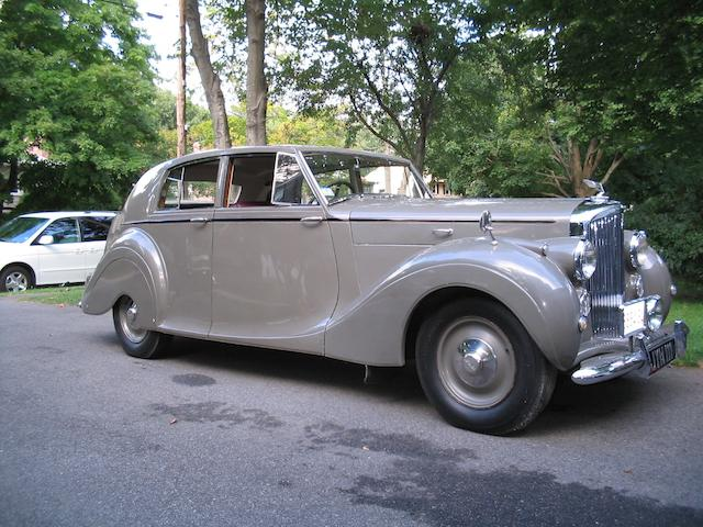 1947 Bentley Mk VI Sedan  Chassis no. B362BH Engine no. B181B