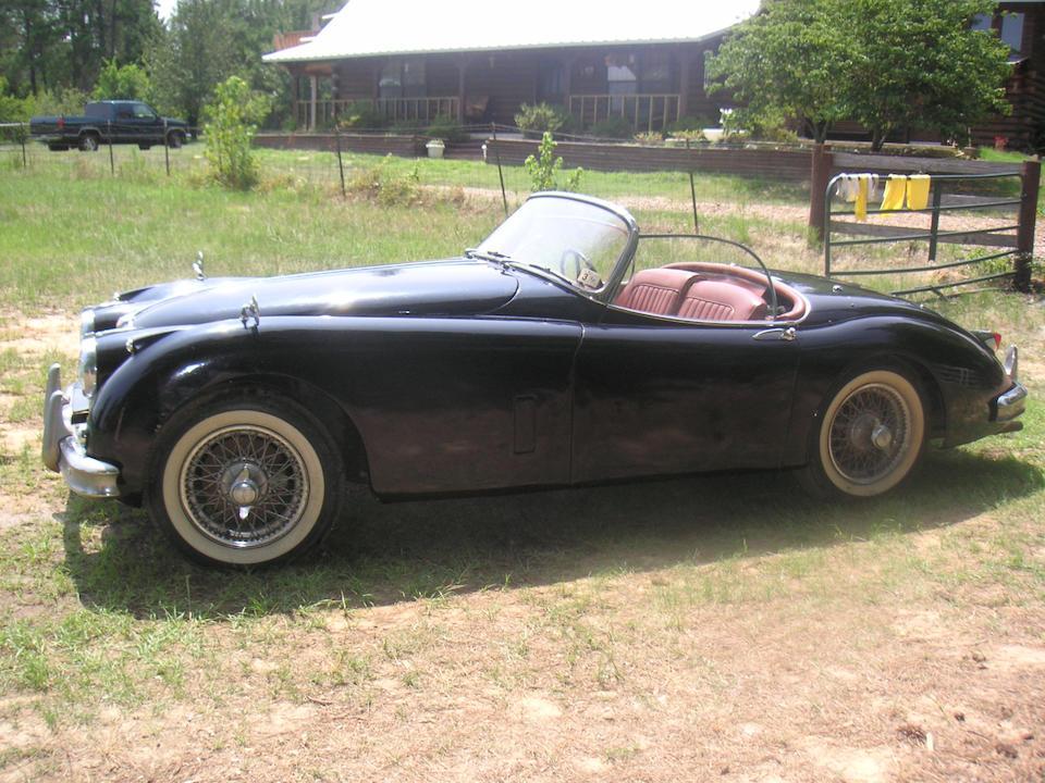 1959 Jaguar XK 150S Roadster  Chassis no. T831262DN Engine no. VS1336-9