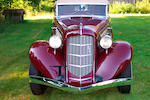 1935 Auburn 851 Supercharged Four-Door Phaeton  Chassis no. 33262H