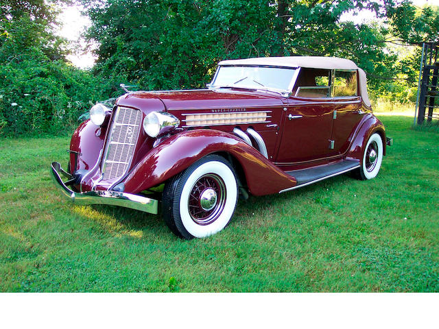 1935 Auburn  851 Supercharged Four-Door Phaeton 33262H