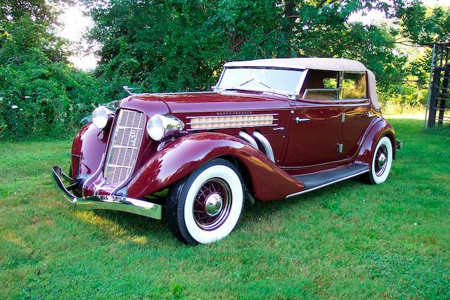 1935 Auburn  851 Supercharged Four-Door Phaeton 33262H