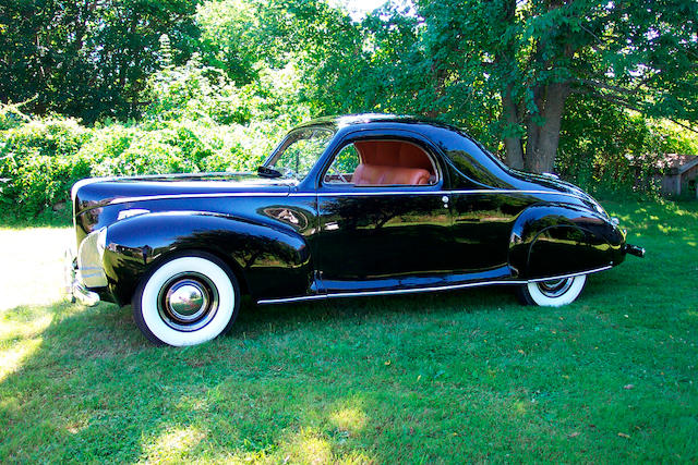 1941 Lincoln Zephyr 3-Passenger Coupe  Chassis no. H109917 Body Style 16H-72-145