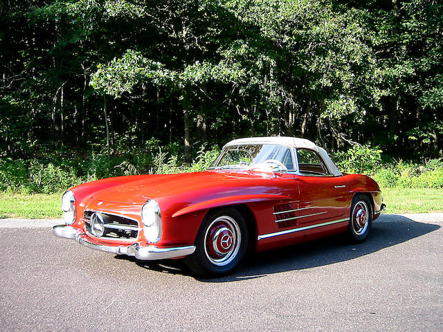 1963 Mercedes-Benz 300SL Roadster  Chassis no. 198 042-10-003192