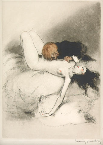 Louis Icart; Selected Book Plates; (12)