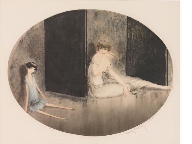 Louis Icart; French Doll;