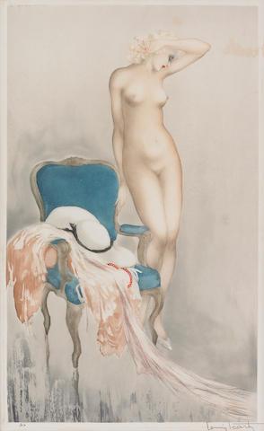 Louis Icart; Fair Model;