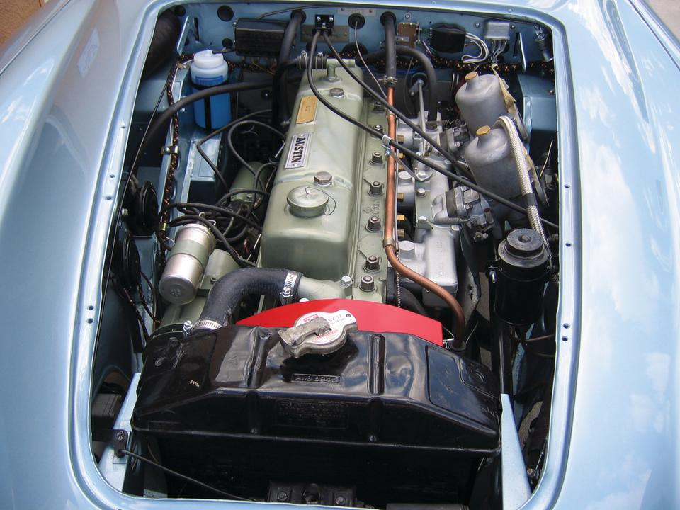 1967 Austin-Healey 3000 Mk III BJ8  Chassis no. HBJ8L38026