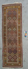 A Bakhtiari runner Southwest Persia, Size approximately 11ft 10in x 3ft 8in