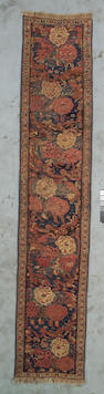A Bidjar runner Northwest Persia, Size approximately 11ft 6in x 2ft 4in