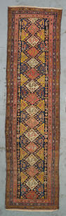 A Malayer runner Central Persia, Size approximately 13ft 6in x 3ft 8in