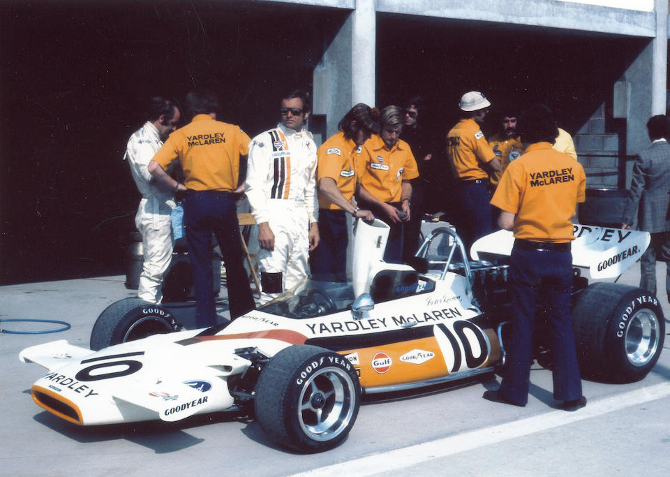 The ex-Peter Revson, ex-Brian Redman,1972 McLaren-Cosworth M19C Formula 1 Racing Single-Seater  Chassis no. M19C-2 Engine no. DFV 365