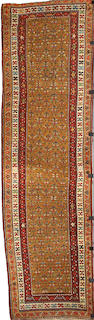 A Kurdish runner Northwest Persia, Size approximately 10ft 10in x 3ft 1in